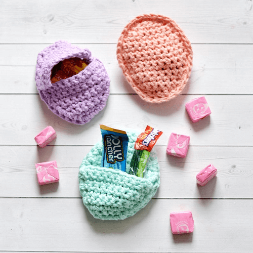 Easter Egg Surprise Bag Crochet Pattern by Miss Mary Mac Designs