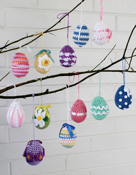 Easter Eggs Crochet Pattern by Maggie's Crochet