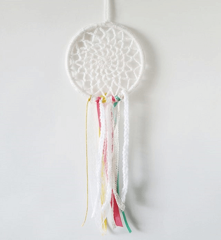 Easy Crochet Dreamcatcher Pattern by Craft Bits
