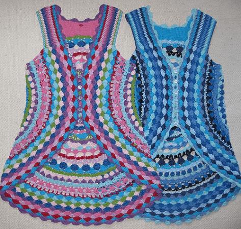 Flower Power Vest Crochet Pattern by Lene Unmack Larsen