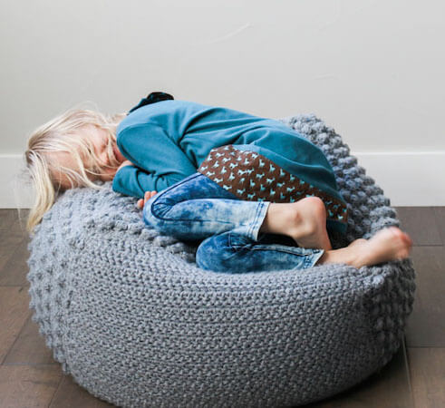Free Crochet Bean Bag Pattern by Make And Do Crew