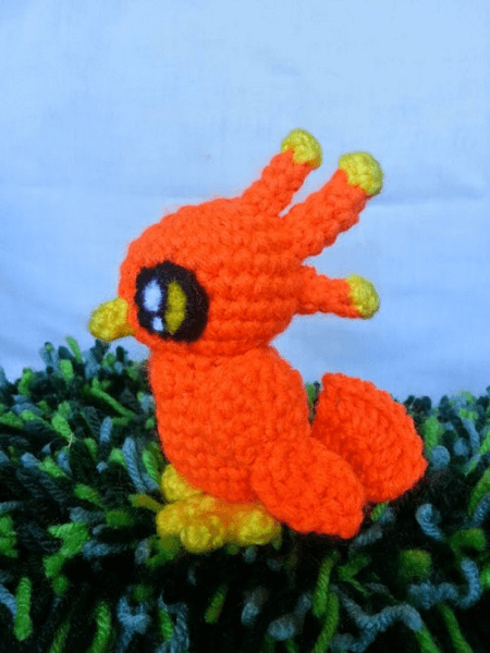 Little Crochet Phoenix Pattern by Jazenami