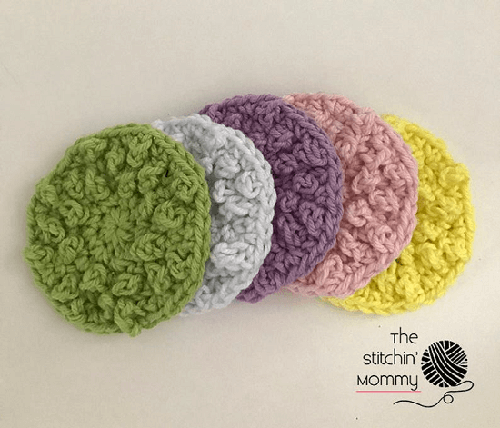 Nubby Scrubbies Crochet Pattern by The Stitchin Mommy