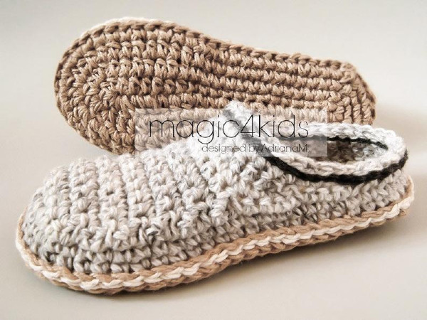 outdoor soles for crochet shoes tutorial