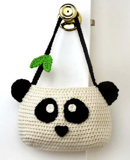 Panda Purse Crochet Pattern by Crochet Spot Patterns