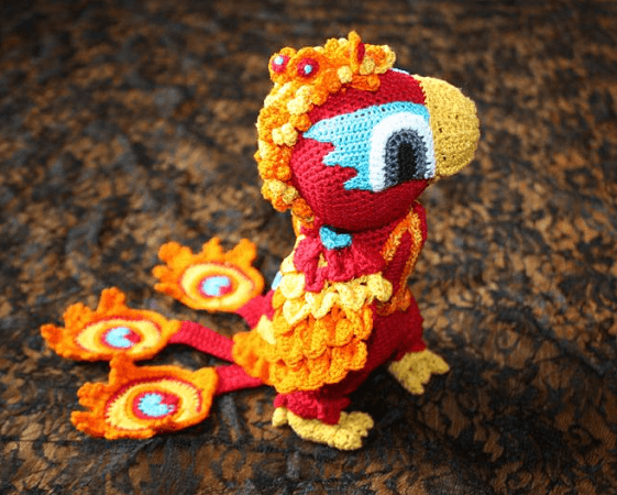 Phoenix Crochet Pattern by Overton Fancies