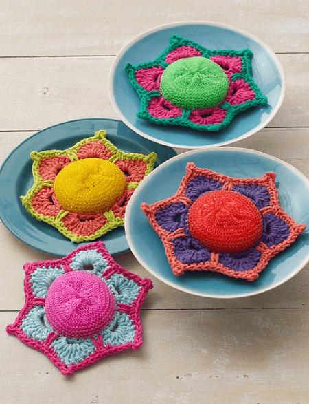 Scrubby Posey Crochet Pattern by Lily Sugar' n Cream