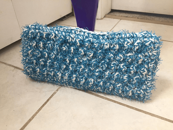 Scrubby Swiffer Cover Crochet Pattern by Rich Textures Crochet