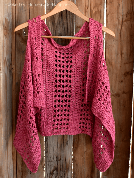 Summer Crochet Vest Pattern by Hooked On Handmade Happiness