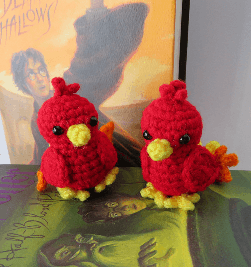 Tiny Phoenix Crochet Pattern by On A Whim By Lynn