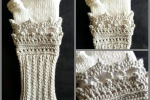 victorian fingerless gloves crochet pattern
