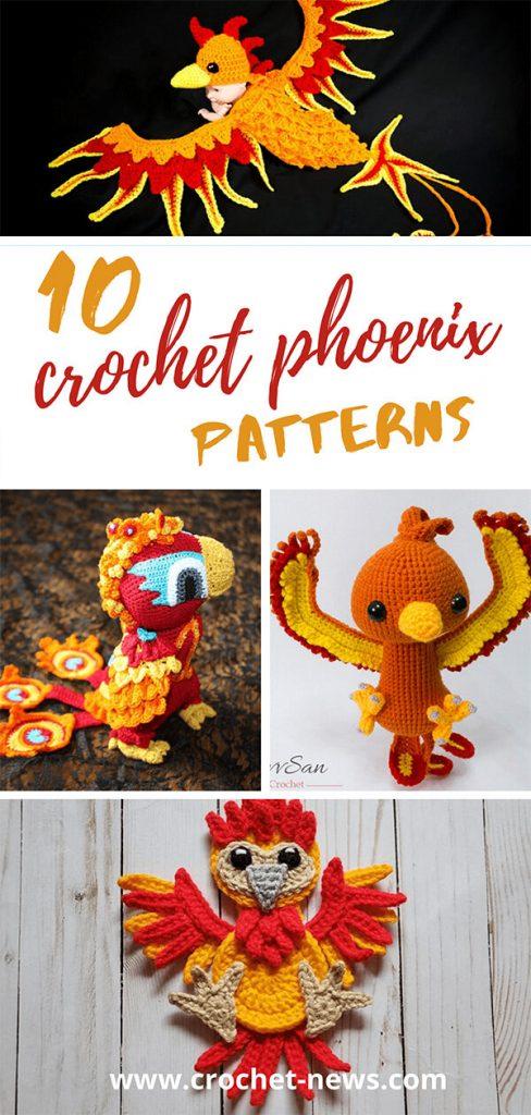 10 Crochet Phoenix Patterns