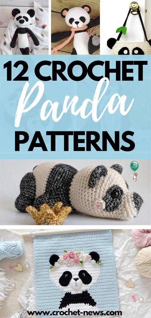 12 Crochet Panda Patterns
