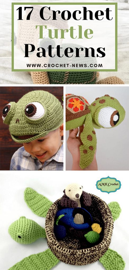 17 Crochet Turtle Patterns