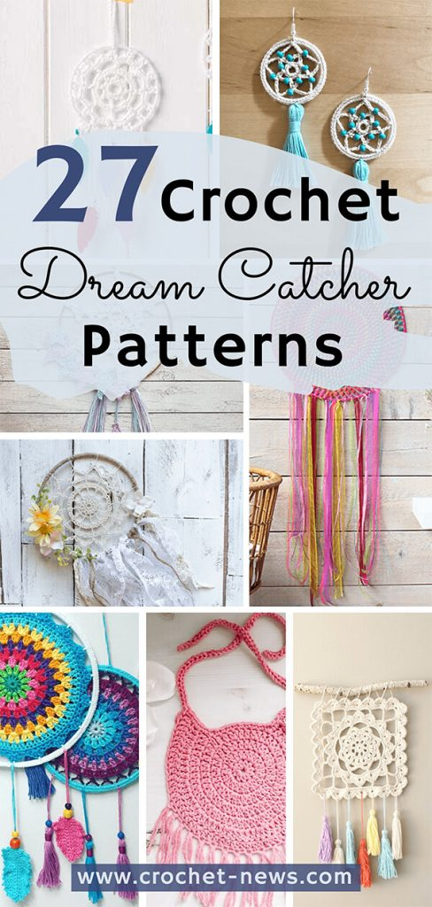 27 Crochet Dream Catcher Patterns