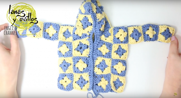 Crochet Hooded Gypsy Jacket Free Pattern beginner