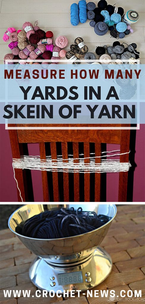 Measure How Many Yards in a Skein of Yarn
