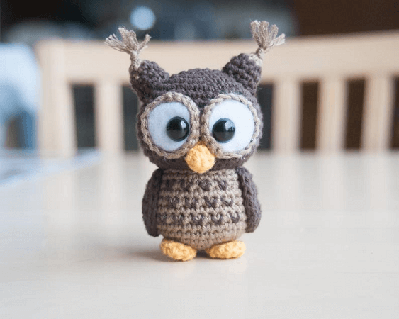 Albert, The Owl Crochet Pattern by Em Sa Crochet