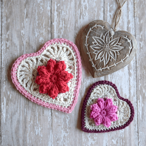 Bavarian Heart Crochet Pattern by Island Style Crochet