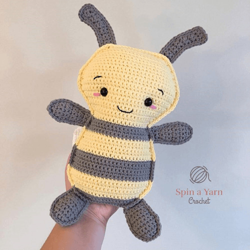 Bumble Bee Crochet Pattern by Spin A Yarn Crochet