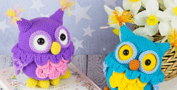 Crochet Owl Amigurumi Pattern by Amigurumi Today