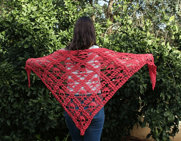 Shawl Skull Crochet Pattern by Etty 2504