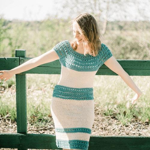 Crochet Summer Dress Pattern by E Claire Makery