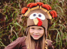 Dindon, The Turkey Hat Crochet Pattern by Ira Rott Patterns
