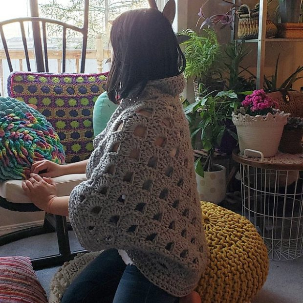 easy Crochet Cocoon Cardigan Pattern