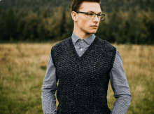 Men's Sweater Vest Crochet Pattern by A Crocheted Simplicity