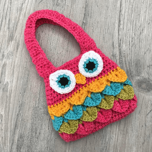 Owl Purse Crochet Pattern by A Frayed Knot Boutique