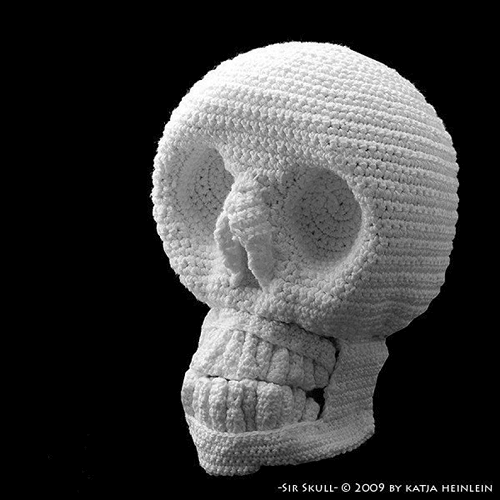 Sir Skull Crochet Pattern by Design Shop