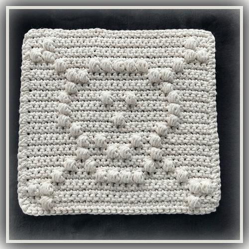 Skull Crochet Dishcloth Pattern by Weird Sheep