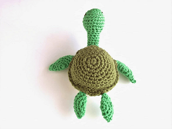 Turtle Crochet Amigurumi Pattern by The Blue Elephants