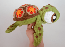 Turtle Crochet Pattern by Krawka
