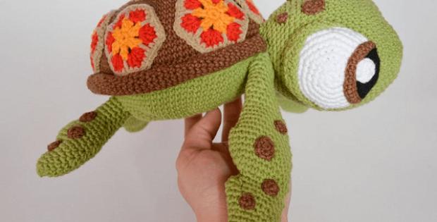 Turtle Crochet Pattern by Krawka