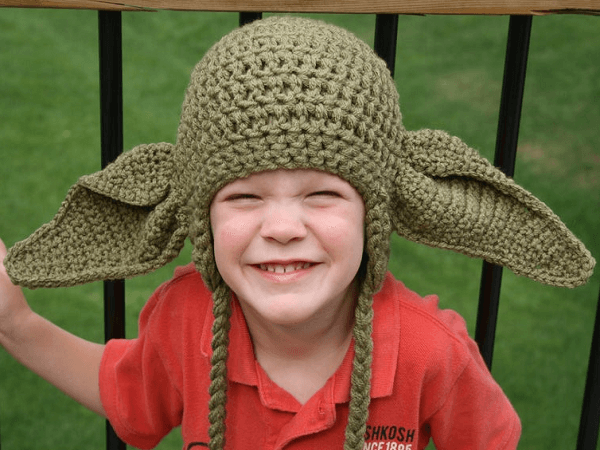 Yoda Inspired Hat Crochet Pattern by Kidz Lidz And Other Digz