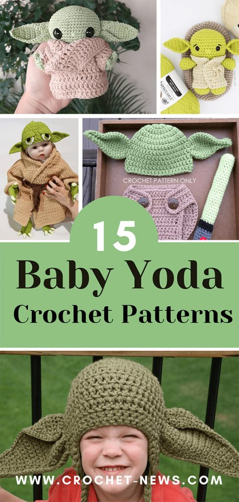15 Baby Yoda Crochet Patterns