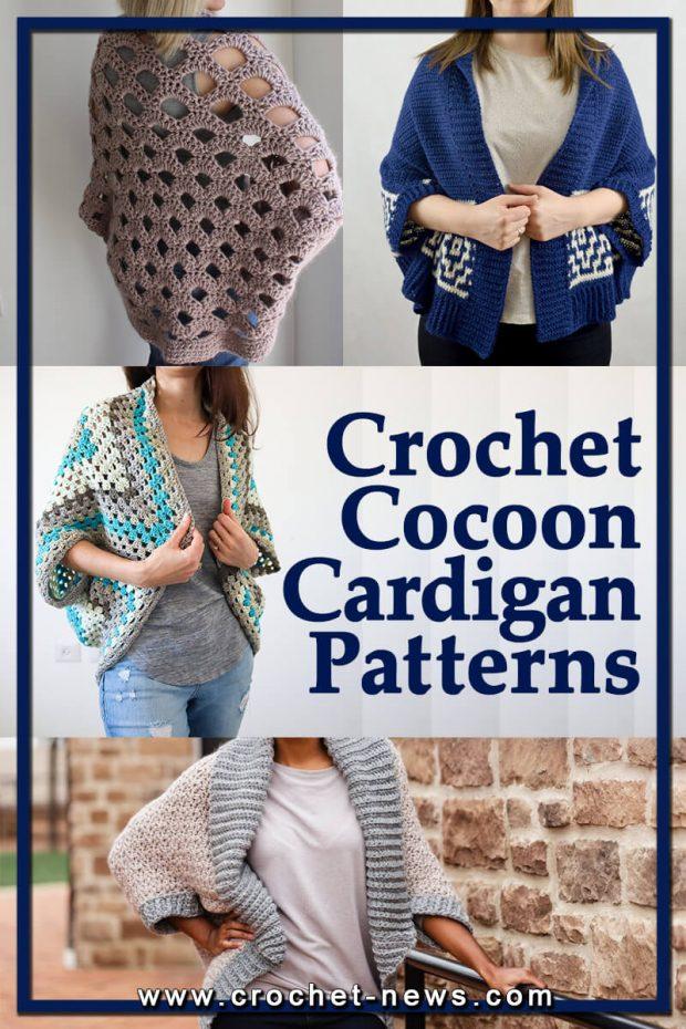 CROCHET COCOON CARDIGAN PATTERNS