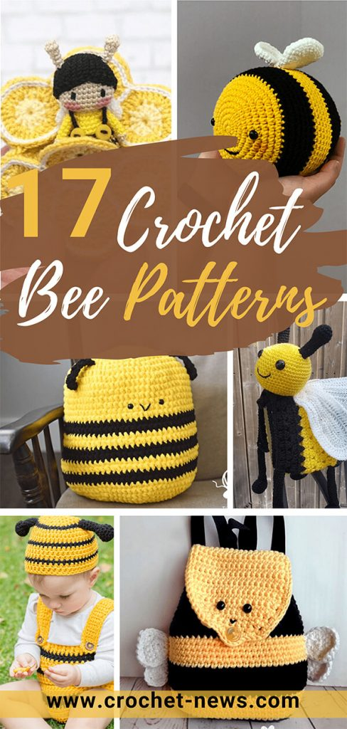 17 Crochet Bee Patterns