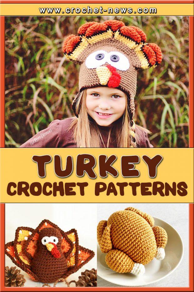 CROCHET TURKEY PATTERNS