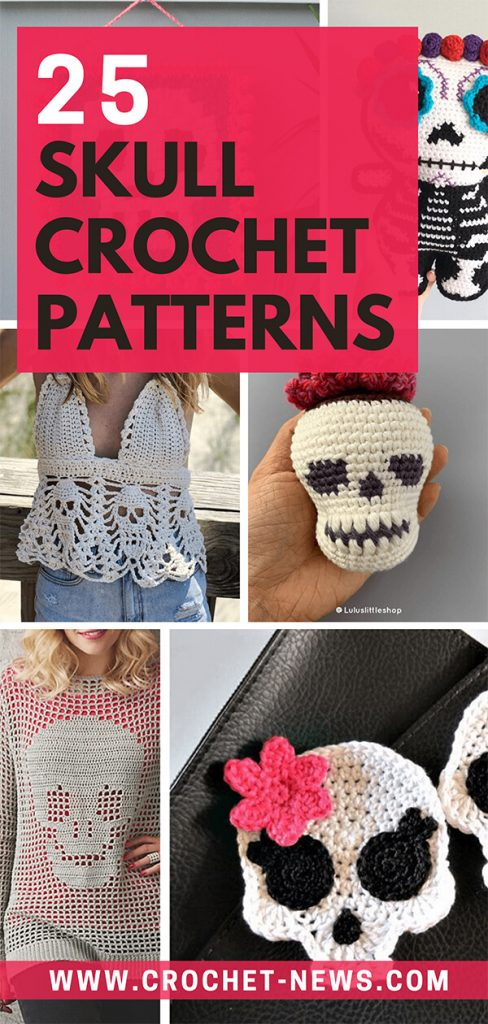 25 Skull Crochet Patterns 1