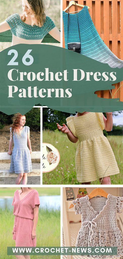 26 Crochet Dress Patterns