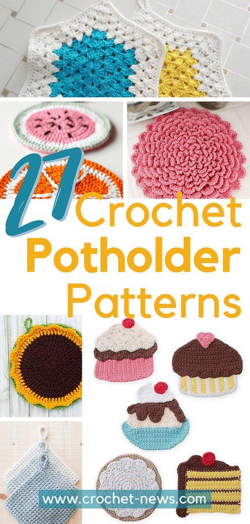 27 Crochet Potholder Patterns