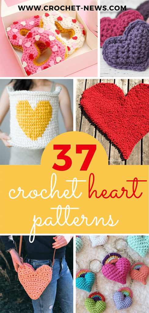 37 Crochet Heart Patterns