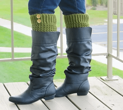 Brooklyn Boot Cuffs Crochet Pattern by Crochet Dreamz