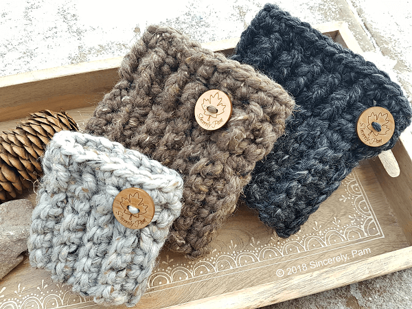 Chunky Boot Cuffs Crochet Pattern by Sincerely Pam