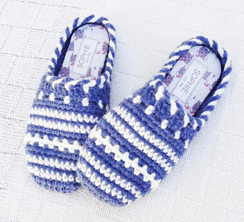 Clog Slippers Crochet Pattern by PDF Pattern Design