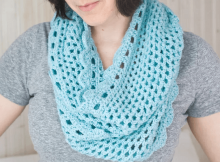 Crochet Infinity Scarf Free Pattern by The Spruce Crafts