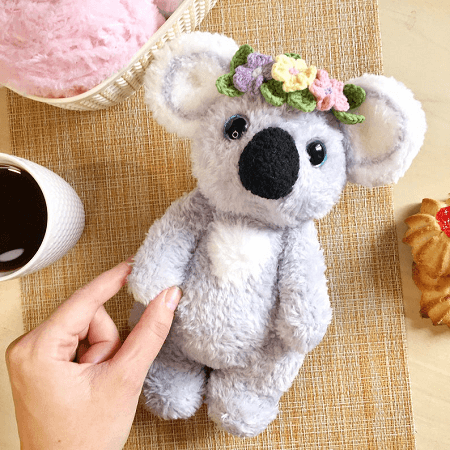 22 Cute Amigurumi Koala Crochet Pattern | Free and Paid | 450x450